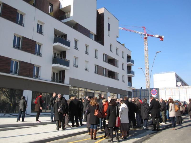 Visite du chantier de r novation urbaine du quartier r publique bonneuil sur marne groupe - Garage bonneuil sur marne ...