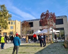 Inauguration du quartier Laplace - Chaperon vert