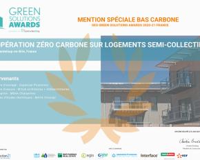 Expansiel Promotion - Groupe Valophis, récompensé au Green solutions awards
