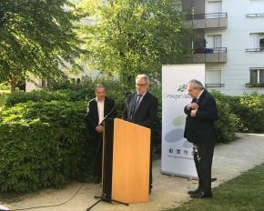 Inauguration des travaux de réhabilitation de la résidence « Gambetta » à Choisy-le-Roi